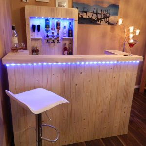 Handmade Wooden Home Bars